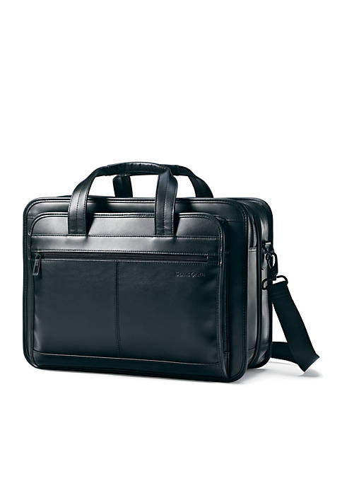Samsonite® Expandable Leather Business Case