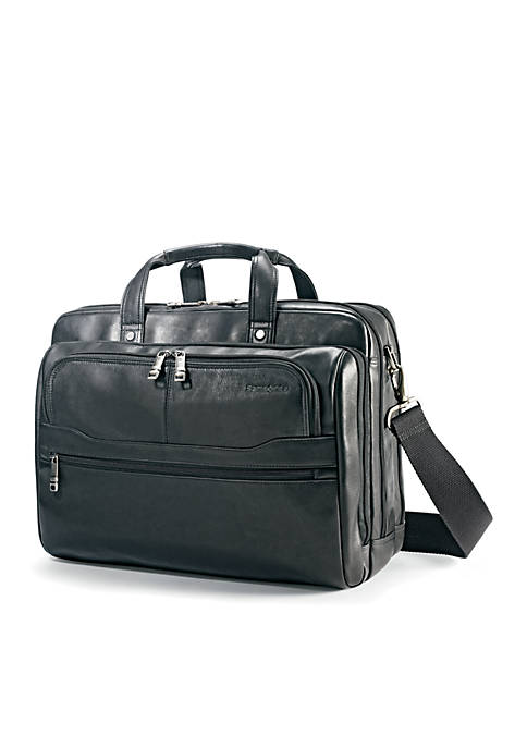 Columbian Leather 2 Pocket Business Case