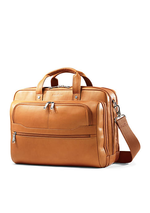 Samsonite® Columbian Leather 2 Pocket Business Case