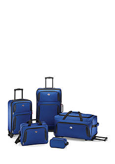 American Tourister 5-Piece Luggage Set Blue