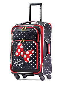 21-in. Minnie Mouse Red Bow Softside Spinner