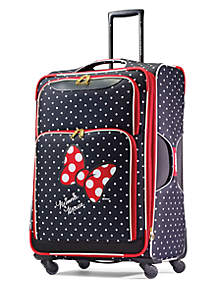 28-in. Minnie Mouse Red Bow Softside Spinner