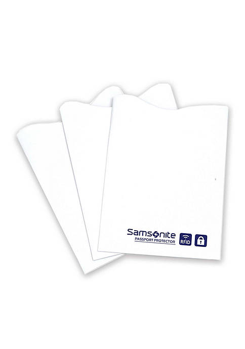 Samsonite® RFID Credit Card Sleeve 3-Pack