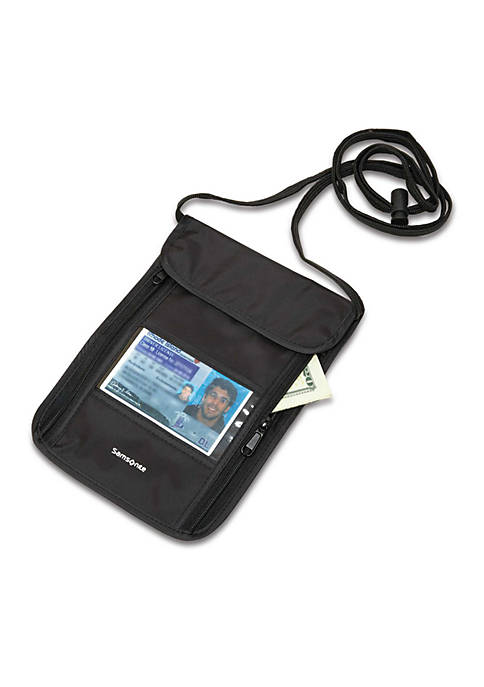 Samsonite® RFID Security Neck Pouch