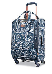 Belle Voyage Luggage Collection - Floral Indigo Sand