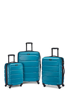 Samsonite® Omni PC Luggage Collection - Caribbean Blue