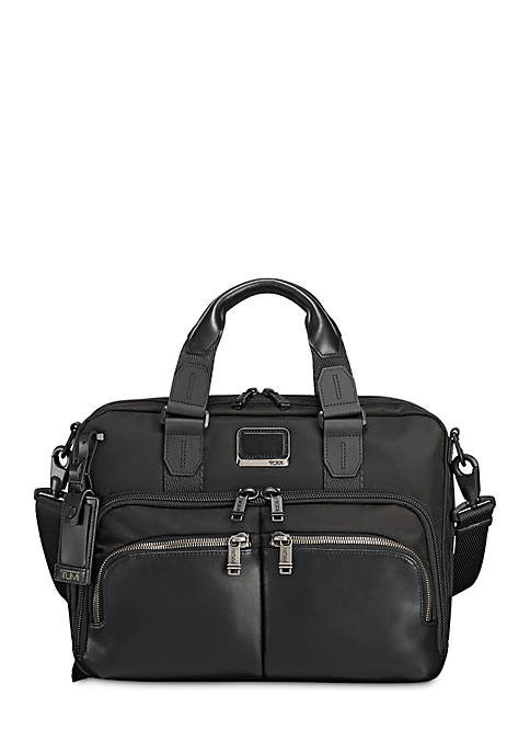 Alpha Bravo Albany Slim Commuter Briefcase