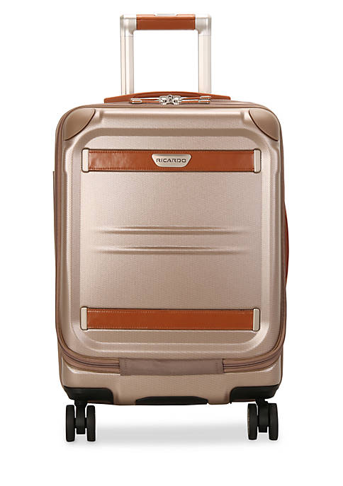Ocean Drive Sandstone 19-Inch Mobile Office Carry On Spinner