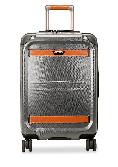 Ricardo Ocean Drive Silver Small Expandable Carry-On Suiter