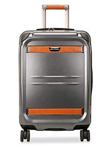 Ocean Drive Silver Small Expandable Carry-On Suiter Spinner