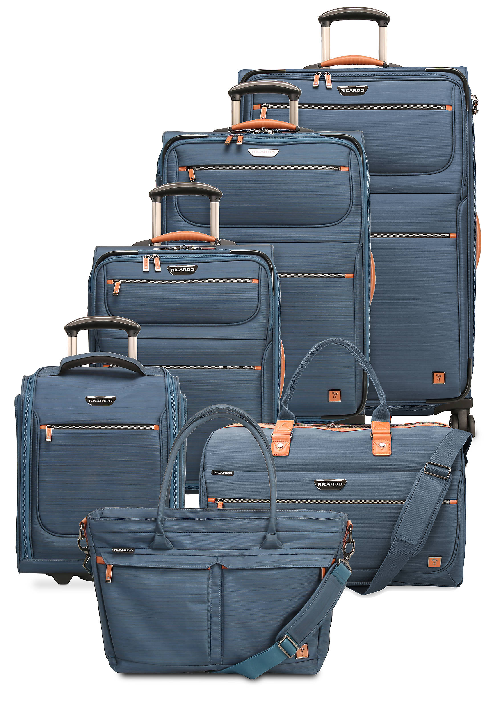 Ricardo San Marcos Luggage Collection - Blue | belk
