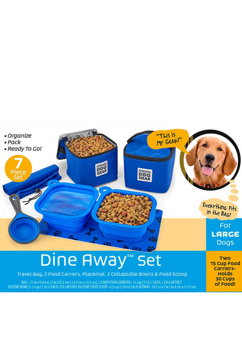 Dine Away Dog Food Travel Bag (Med/Lg Dogs)