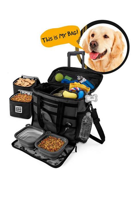 Rolling Week Away Dog Travel Bag
