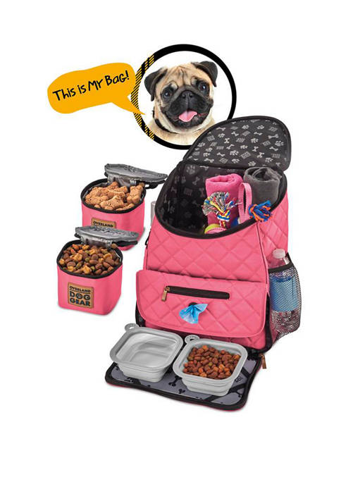 Mobile Dog Gear Weekender Dog Travel Backpack