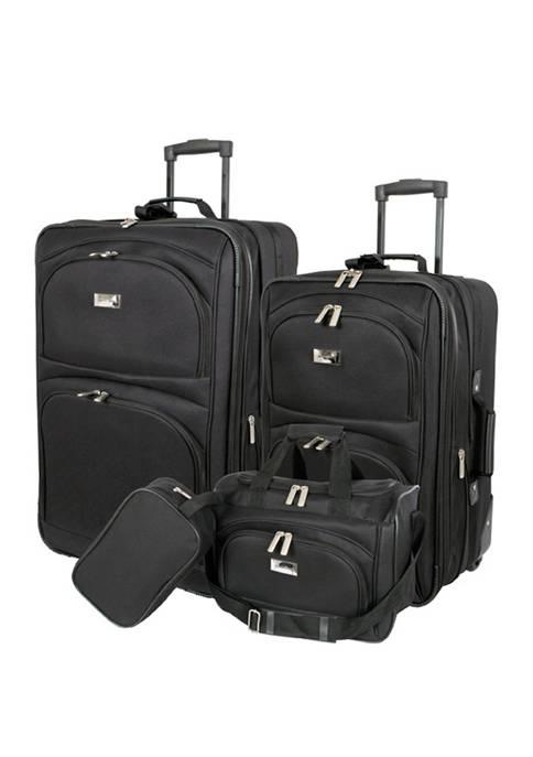 Geoffrey Beene Westchester 4 Piece Luggage Set
