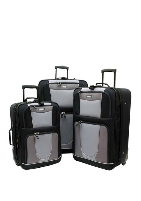 Geoffrey Beene Carnegie 3 Piece Luggage Set