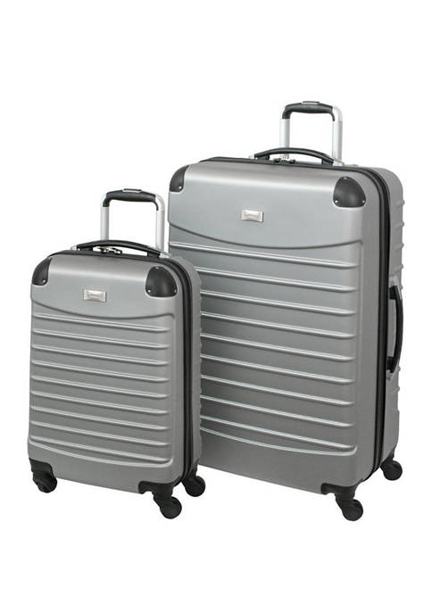 Geoffrey Beene 2 Piece Hardside Luggage Set
