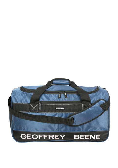 Geoffrey Beene 24 Inch Embroidered Duffle Bag