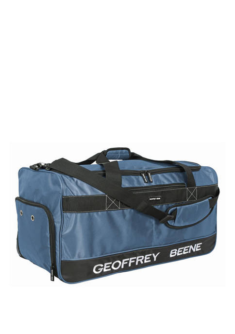 Geoffrey Beene 28 Inch Embroidered Duffle Bag
