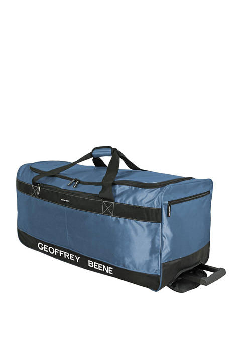 32 Inch Embroidered Duffle Wheeler