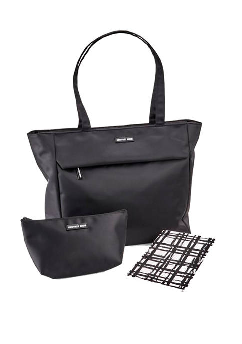 3-Piece Womens Business Tote Set