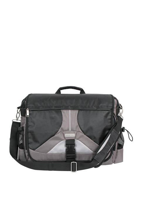 Geoffrey Beene Tech Messenger Bag