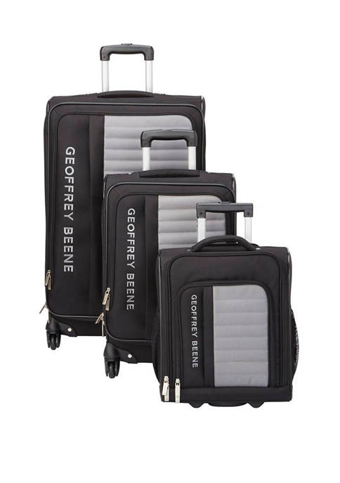 Geoffrey Beene Adventure 3-Piece Luggage Set