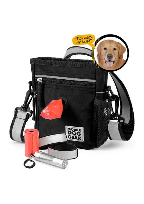 Mobile Dog Gear Walking Bag and Dine Away Set - Med/Lg Dogs