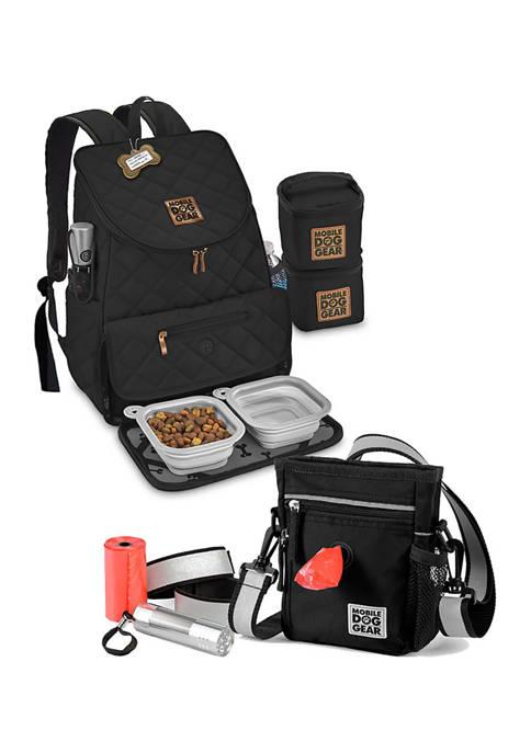 Walking Bag and Weekender Backpack