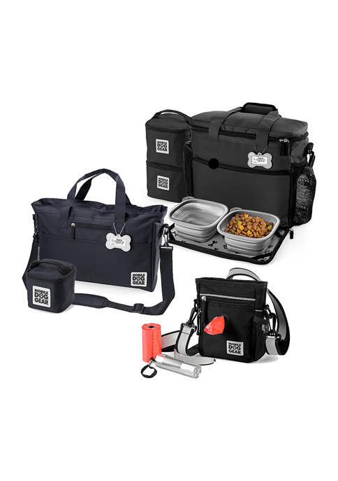 Mobile Dog Gear Walking Bag with Day Away
