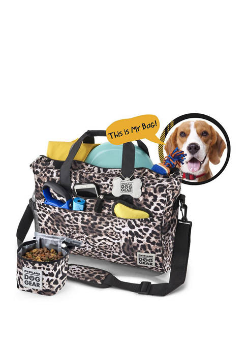 Day Away Dog Travel Tote Bag
