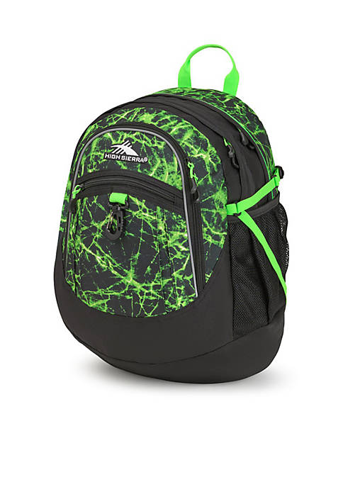 High Sierra Fat Boy Lime Fire Backpack