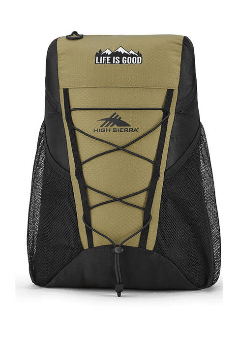 Life is Good Pack n Go Backpack