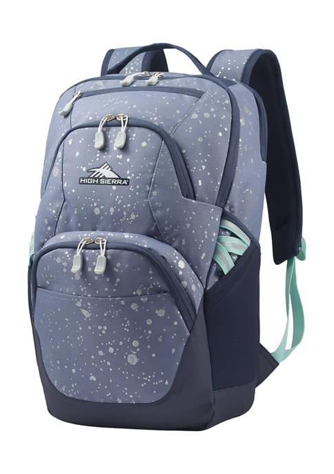 High Sierra Swoop Metallic Splatter Backpack