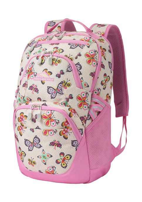 High Sierra Swoop SG Butterflies Backpack