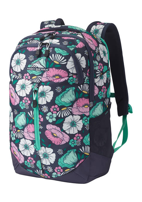 High Sierra Swerve Pro Floral Backpack