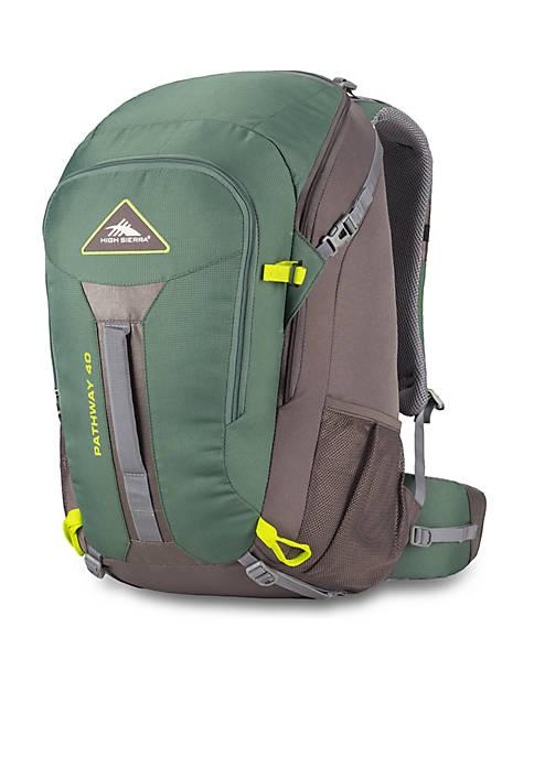 High Sierra Pathway 40 L Backpack