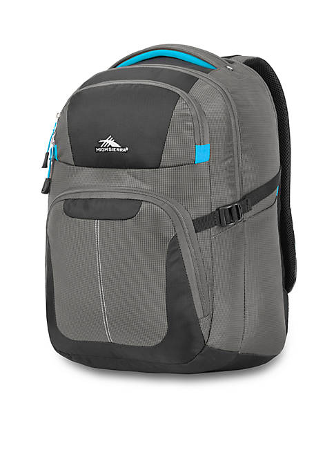 High Sierra Selway Gray Computer Backpack