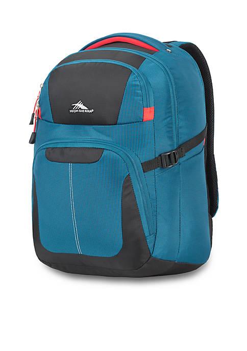 High Sierra Selway Blue Computer Backpack