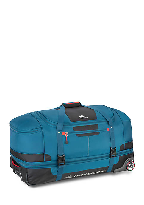 High Sierra Selway Blue 34-in. Rolling Duffel