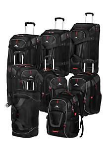 High Sierra Adventure Travel 7 Luggage Collection - Black