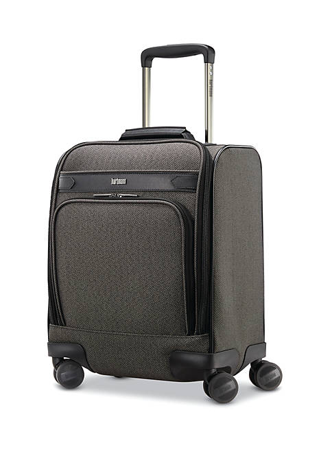Hartmann Herringbone Deluxe Carry On Underseat Spinner