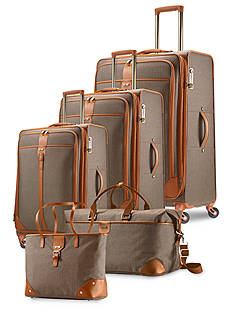 Hartmann Herringbone Luxe Luggage Collection - Terracotta