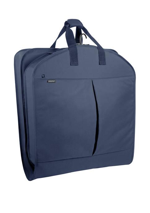 WallyBags® 40 Inch 2 Pocket Garment Bag