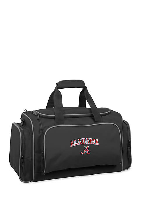 WallyBags® Alabama Crimson Tide 21-in. Collegiate Duffel