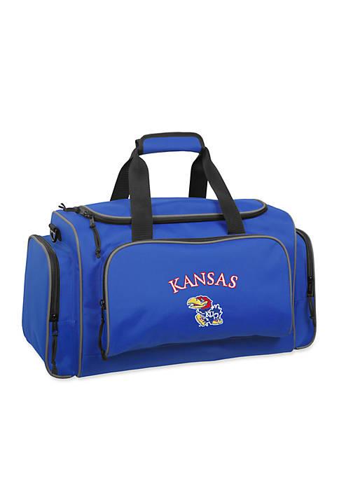 Kansas Jayhawks 21-in. Collegiate Duffel - Online Only
