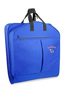 WallyBags® Kansas Jayhawks 40-in. Suit Length Garment Bag - Online Only