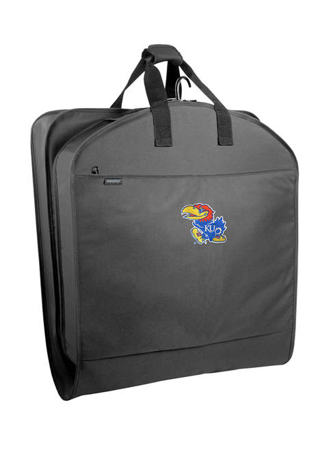 NCAA Kansas Jayhawks 40 Inch Suit Length Garment Bag with Pockets