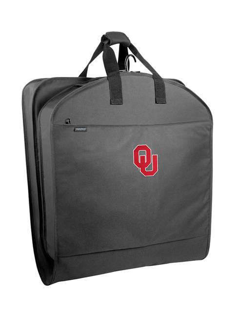 NCAA Oklahoma Sooners 40 Inch Suit Length Garment Bag with Pockets