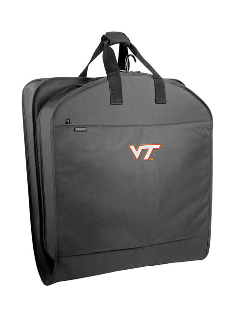 NCAA Virginia Tech Hokies 40 Inch Suit Length Garment Bag with Pockets